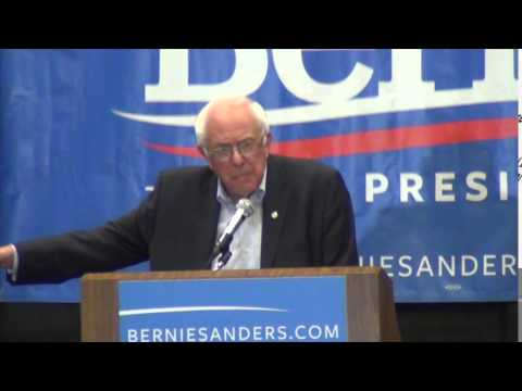 Bernie Sanders on Mass Incarceration in the United States