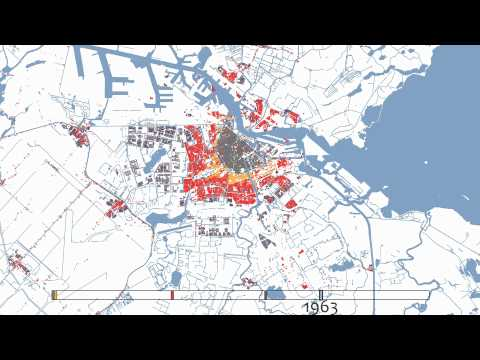 Amsterdam 1850-2010 (animation)