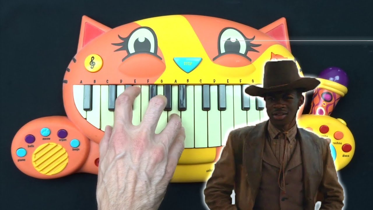 How To Play Old Town Road On A Cat Piano Youtube