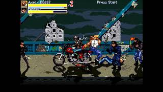 OpenBoR games: Streets of Rage Russia (2018) playthrough - ALL ROUTES