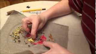 Вышивка лентами для начинающих. Оформление изнанки