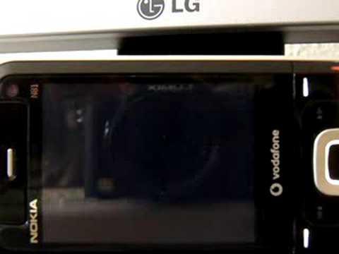 Chumby test on Nokia N81