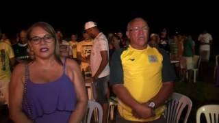 Gilliard e Paulo Noronha no aniversario de 30 anos do Vila União