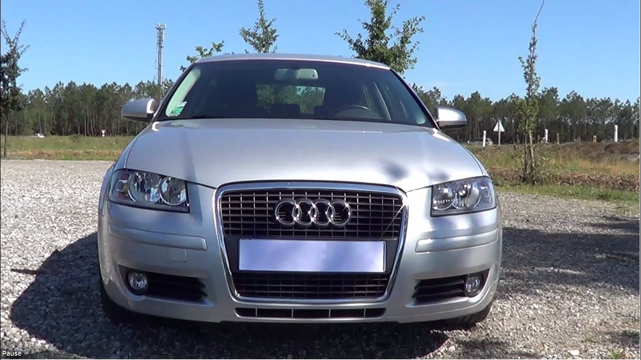 2008 audi a3 2 0 tdi 140 ambition pr sentation d taill e youtube. Black Bedroom Furniture Sets. Home Design Ideas