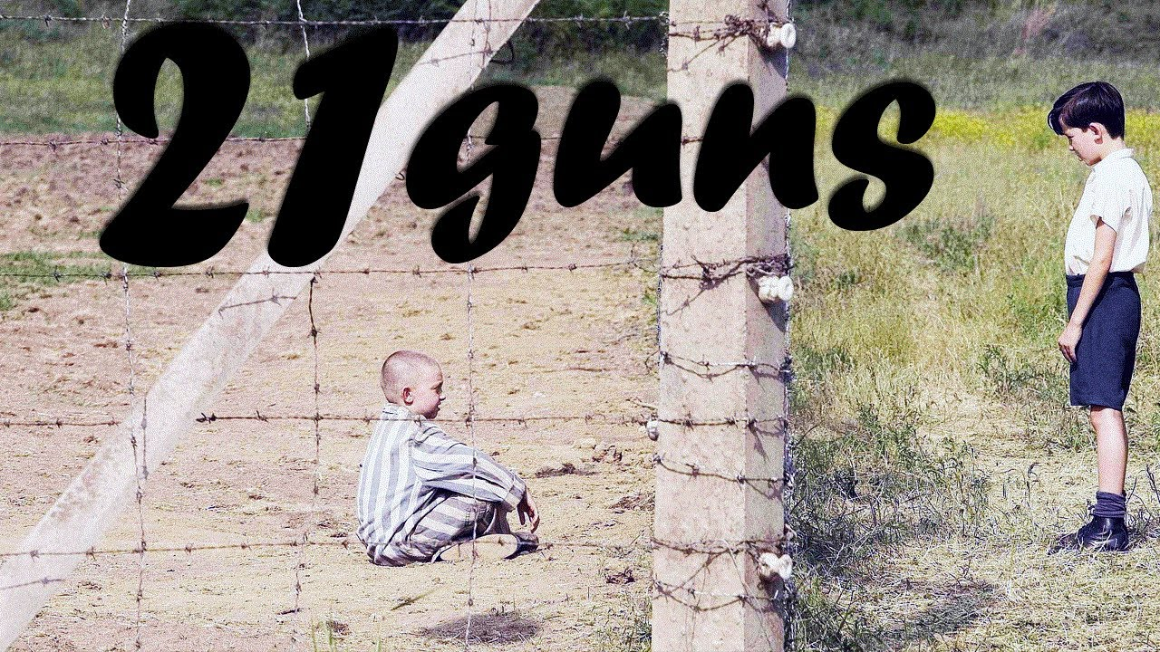 21 guns the boy in the striped pyjamas