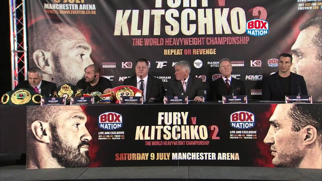 Klitschko Fury 2