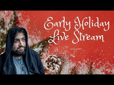 Holiday magic talk, Festivus Gaming and possibly free stuffs!!