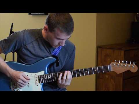 Seymour Duncan Texas Hot Antiquities and Warmoth Stratocaster Neck Demo
