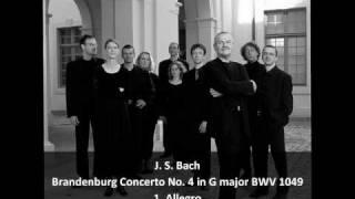 J. S. Bach - Brandenburg Concerto No. 4 in G major BWV 1049 (1/2) - Musica Antiqua Köln
