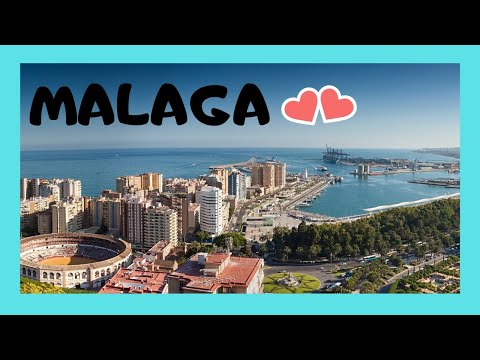 EXPLORING MALAGA'S fantastic HARBOUR and WATERFRONT (SPAIN)