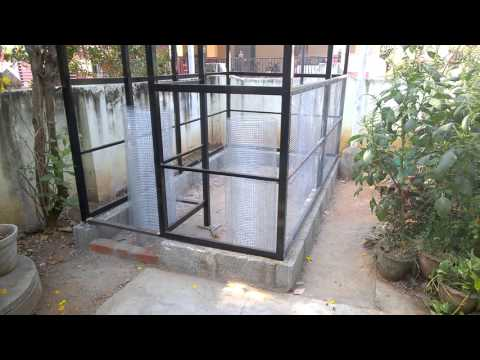Outdoor Aviary - Construction Progress Video1