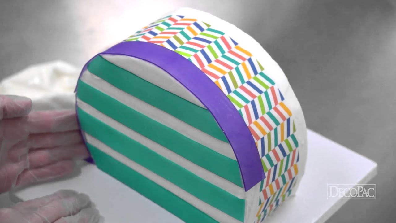 DecoTips How To Make A Purse Shaped Cake