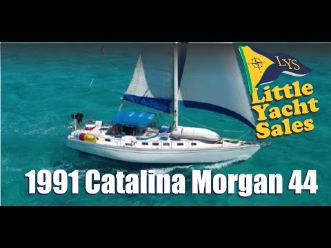 1991 Catalina-Morgan 44 Sailboat for sale at Little Yacht Sales, Kemah Texas