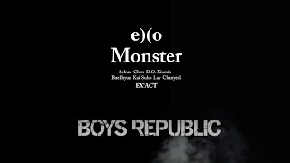 monster x get down exo boys republic mashup