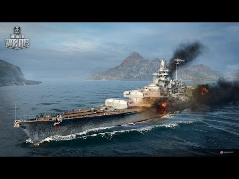 World of Warships - Gamescom 2015: German fleet incoming!