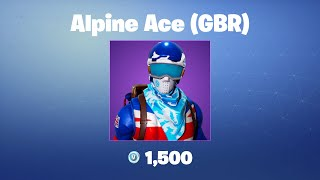 Alpine Ace (G-B) - France Fortnite Outfit/Peau