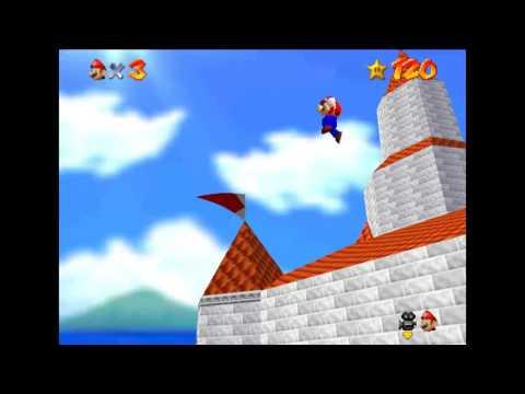 Super Mario 64 - Castle Freerun! 【TAS】