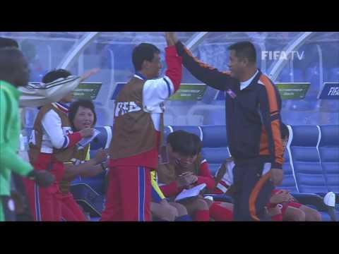Match 21: Korea DPR v Nigeria  FIFA U17 Women's World Cup 2016
