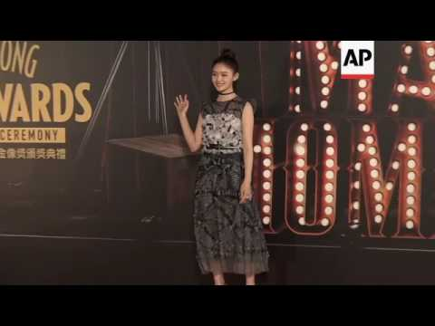 A galaxy of stars hit the red carpet for the Hong Kong Film Awards