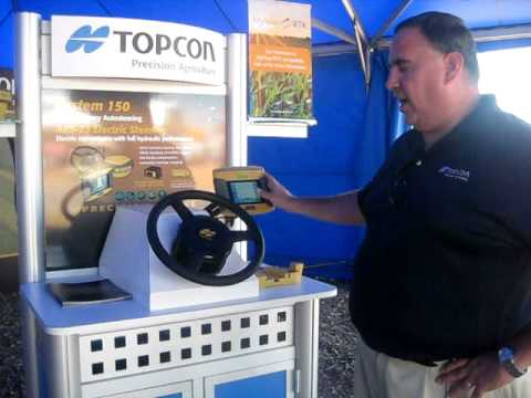 Farm Progress Video 2011: Topcon 150 Auto Steer System