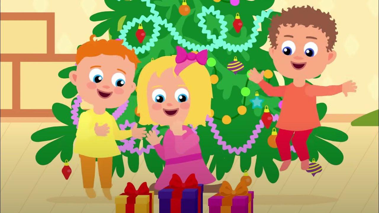 Зимняя песенка - Песенки для детей про зиму, Дед Мороза и подарки