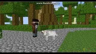 Жизнь собаки в майнкрафте