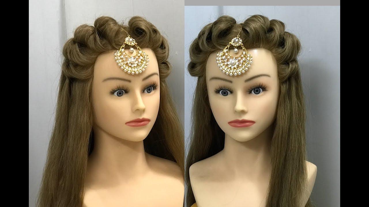 Simple Wedding Hair Styles: 2 Beautiful Hairstyles : Easy Wedding Hairstyles