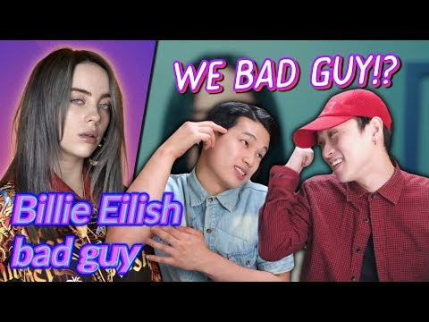K-pop Artist Reaction Billie Eilish - bad guy