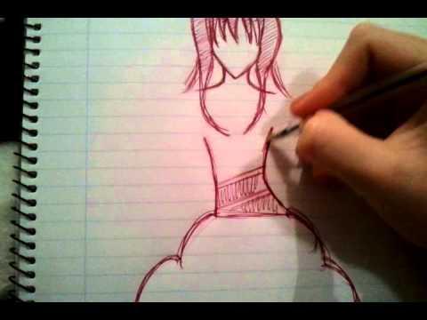 Рисунок *Аниме*.