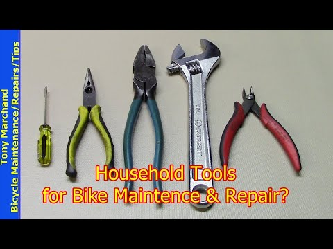 Household Tools for Bicycle Maintenance or Repair thumbnail