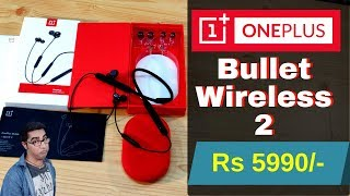 OnePlus Bullets Wireless 2 Earphone Detail Review | Oneplus Bullet Wireless 2 Sound Quality Test