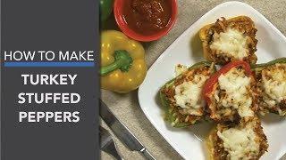 Turkey Stuffed Peppers Recipe (Easy & Gluten-Free Dinner)