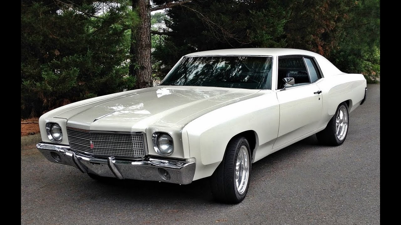 Monte Carlo Pro Touring >> 1970 Monte Carlo LS 1 Pro Touring SOLD by MusclecarJR.com - YouTube