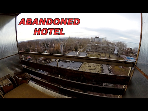 Abandoned Hotel (Exploring with GoPro) - Urban Exploration