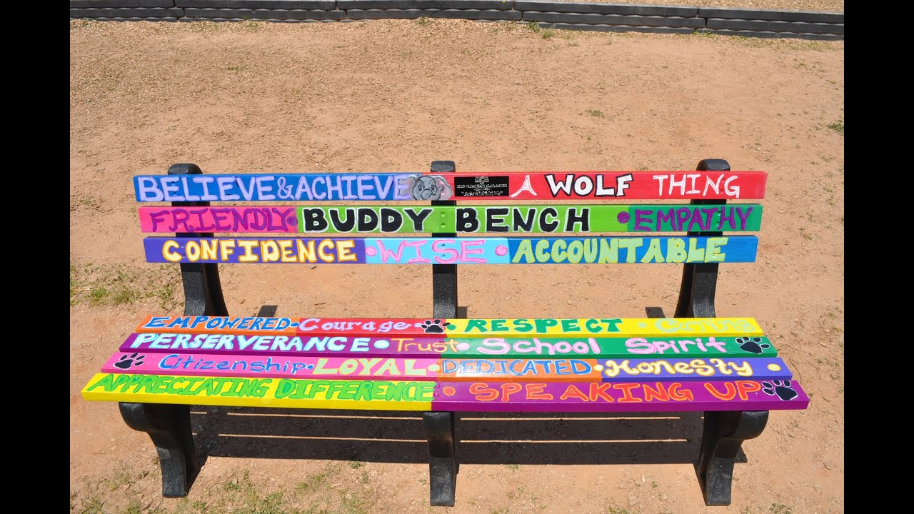 Sun Fun Day Night Post Do You Have A Buddy Bench Ed