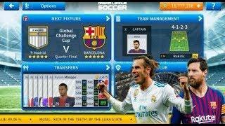 Top el clacico match | barcelona vs real madrid dream league soccer 2019 gameplay