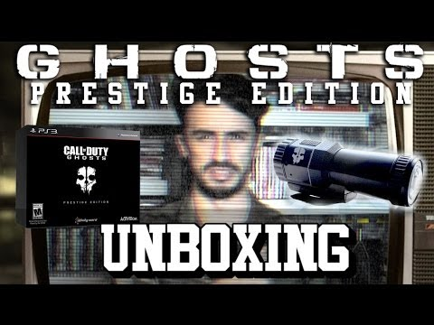 Unboxing Call Of Duty Ghosts - Prestige Edition