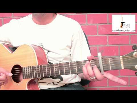 Morasaiyaan guitar lesson (simplified) www.tamsguitar