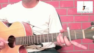 Mora  saiyaan guitar lesson (simplified) www.tamsguitar.com