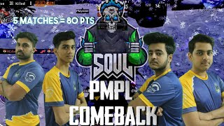 Team SouL   PMPL Comeback on the last day of WEEK 2   PUBG MOBILE