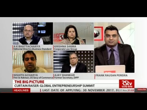 The Big Picture - Curtain Raiser : Global Entrepreneurship Summit