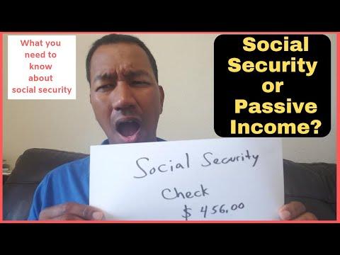 Passive Income as a Social Security Retirement Option