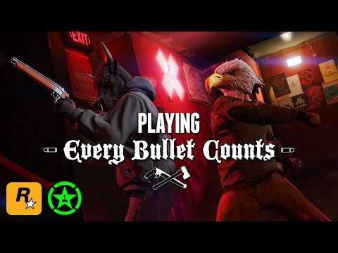 Every Bullet Counts with Achievement Hunter & Lazlow (GTA Online Livestream)