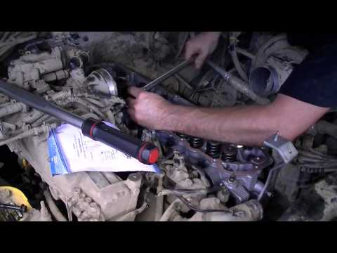 Фото к видео: Nissan patrol TB45 Head gasket change