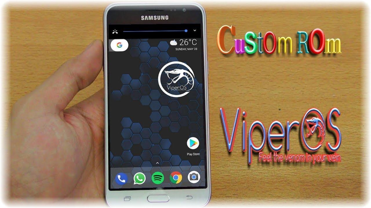 Riview Custom ROM ViperOS For GALAXY J3