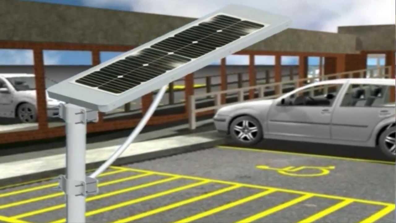 L 225 Mpara Solar Led De Calle Youtube