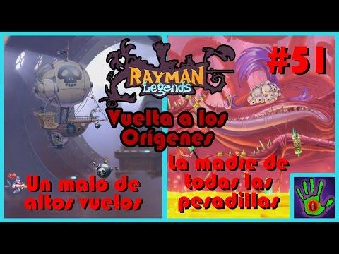 Guía Rayman Legends español   PC   #51 (final): Un malo de altos vuelos + La madre de las pesadillas