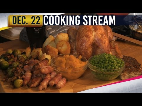COOKING A CHRISTMAS DINNER [1] - YOGSCAST JINGLE JAM - 22nd December 2017
