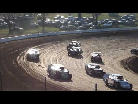 Springfield Raceway 11 26 16 Jace Gay Heat