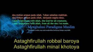 Video Taubatan Nasuha (Qasidah Istighfar) Rumi/ Arabic-Western lyrics. download MP3, 3GP, MP4, WEBM, AVI, FLV Agustus 2018